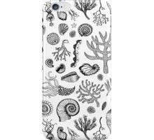 Natural Forms - Black and White iPhone Case/Skin