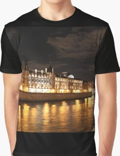 Conciergerie at night Graphic T-Shirt