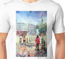 London Art Sunny Afternoon In The City Unisex T-Shirt