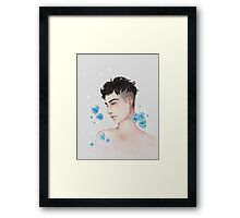 Flower Boy Framed Print