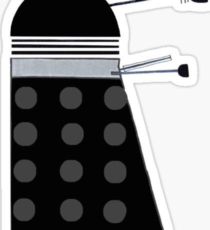Dalek (Black) Sticker