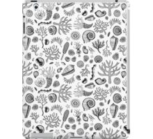 Natural Forms - Black and White iPad Case/Skin