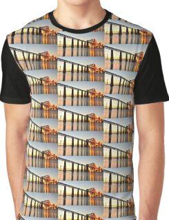Forth Railway Bridge Graphic T-Shirt