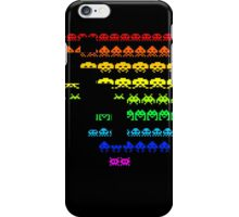 Colors Space Invaders iPhone Case/Skin