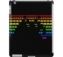Colors Space Invaders iPad Case/Skin