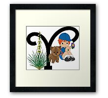 Y is for... Framed Print