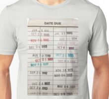 Library Cards Unisex T-Shirt