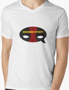 Maximum Effort! Mens V-Neck T-Shirt