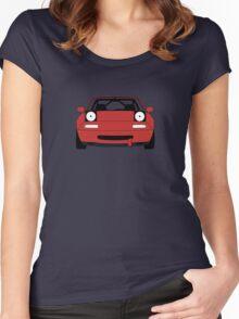Miata Racecar Women's Fitted Scoop T-Shirt