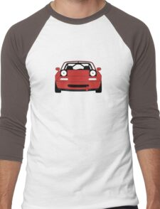Miata Racecar Men's Baseball ¾ T-Shirt