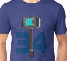 Syndergaard's Hammer (w/ Orange K) Unisex T-Shirt
