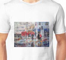 City Art - Outside Charing Cross Station London Unisex T-Shirt