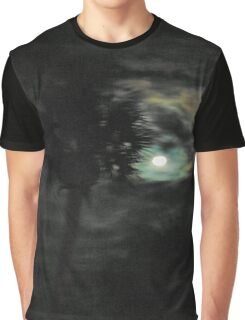 Palm Tree In Moonlight Graphic T-Shirt