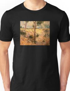 'Trees in a Field on a Sunny Day' by Vincent Van Gogh (Reproduction) Unisex T-Shirt