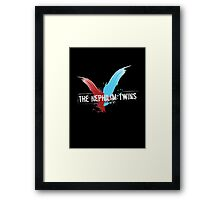 The Nephilim Twins Framed Print