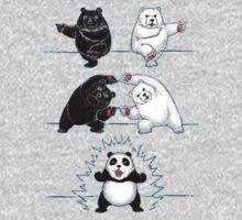 Panda Fusion Kids Tee