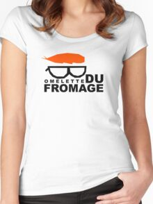 Omelette du fromage Women's Fitted Scoop T-Shirt