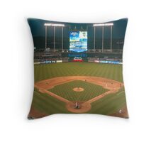 Kansas City Home of Baseball Fever Throw Pillow