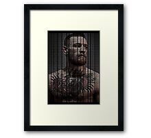 Conor Mcgregor, Take Over Quote (Superimposed) Framed Print