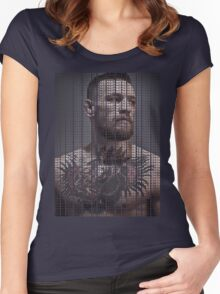 Conor Mcgregor, Take Over Quote (Superimposed) Women's Fitted Scoop T-Shirt