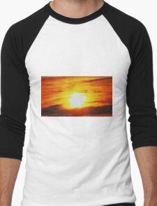 Abstract From The Sun Men's Baseball ¾ T-Shirt