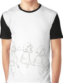 Haku in Motion - Spirited Away Graphic T-Shirt