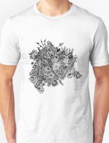 Random Doodle Unisex T-Shirt