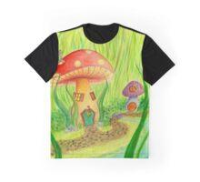 Mushroom Grove Graphic T-Shirt