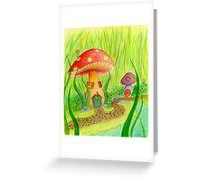 Mushroom Grove Greeting Card