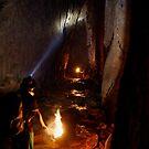 Trekking through a Thai Cave by magnetik