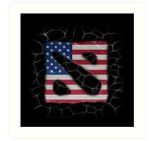 American Dota Art Print