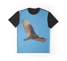 Cathartes Aura - Turkey Vulture In Flight | Orient Point, New York Graphic T-Shirt