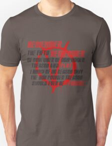 v for vendetta quote Unisex T-Shirt