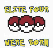 I beat the Elite Four Kids Tee