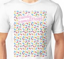 Candy Camouflage Unisex T-Shirt