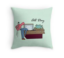 All Day Schmidt Throw Pillow