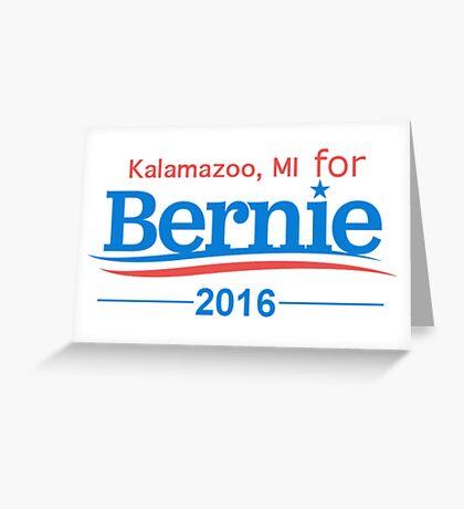 Bernie Greeting Card