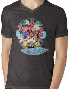 TERRA Mens V-Neck T-Shirt