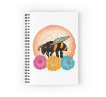 Protect the Bees Spiral Notebook