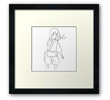 Haku - Spirited Away Framed Print