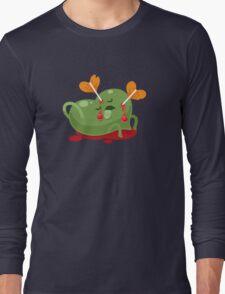 Dead Valentines heart Long Sleeve T-Shirt