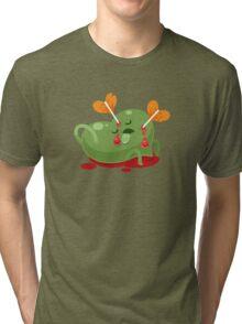 Dead Valentines heart Tri-blend T-Shirt