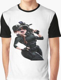 Ash Rainbow 6 Siege  Graphic T-Shirt