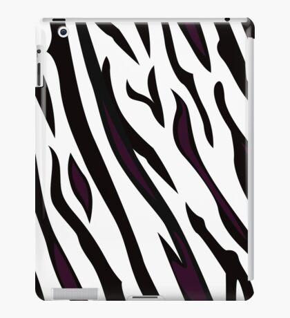 Safari zebra pattern or texture iPad Case/Skin