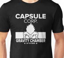 Capsule Corp. Gravity Chamber Training Vegeta Unisex T-Shirt