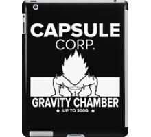 Capsule Corp. Gravity Chamber Training Vegeta iPad Case/Skin