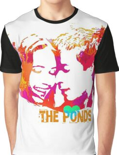 The Ponds, Amy and Rory  Graphic T-Shirt