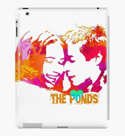 The Ponds, Amy and Rory  iPad Case/Skin