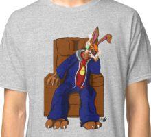 Gangster Rabbit smoking cigar Classic T-Shirt
