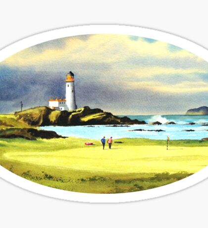 Turnberry Golf Course Scotland Sticker